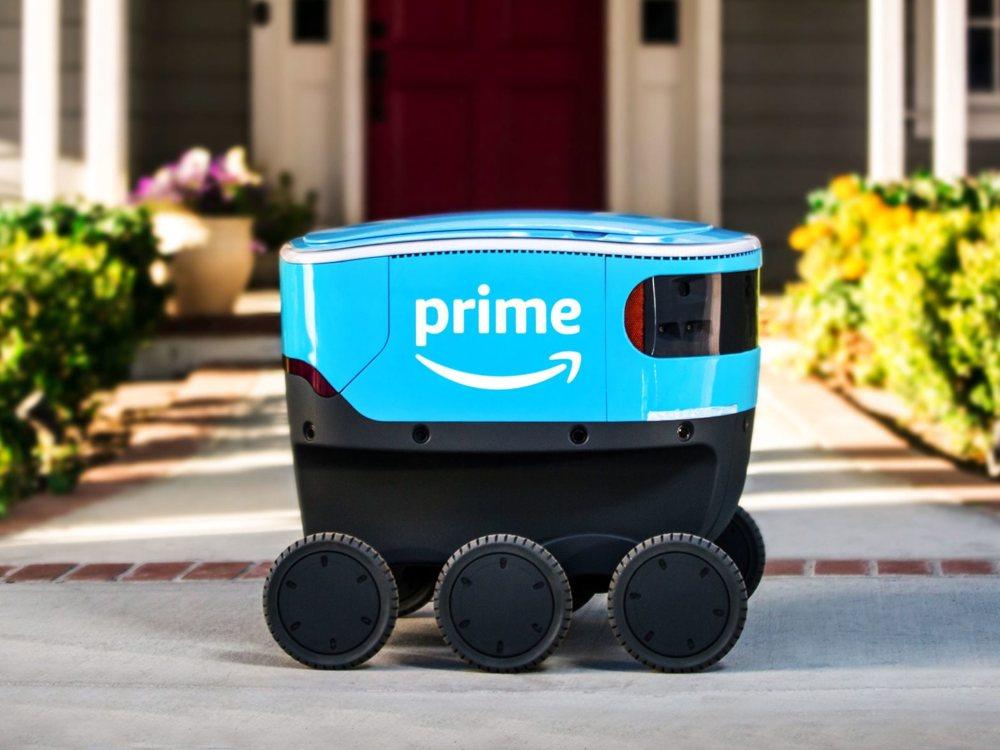 Amazon Scout's robot